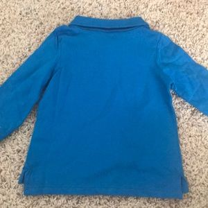 Old Navy Shirts & Tops - Old Navy Blue Long Sleeved Baby Boy Shirt